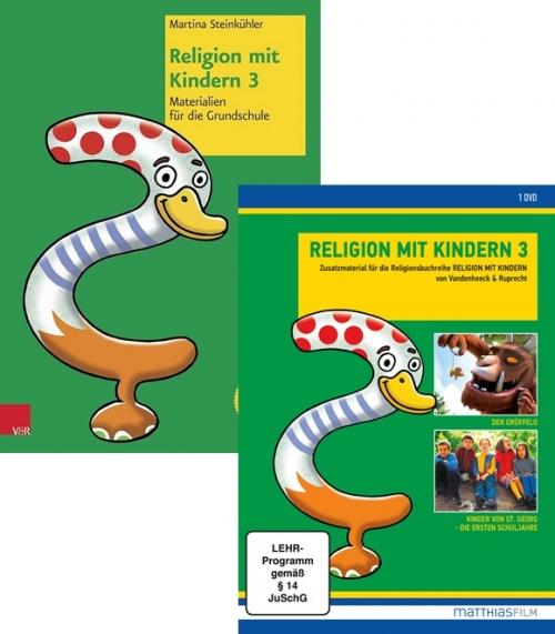 Religion mit Kindern 3 – DVD und Buch im Paket