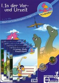 Albert Entdeckungstour DVD 1-6