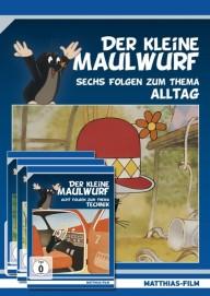 Der kleine Maulwurf – 4 DVDs im Paket