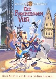 Die furchtlosen Vier (DVD-Lizenz 5 Jahre) (DVD)